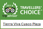 TripAdvisor Travellers Choice badges 2014 cusco plaza cusco hotel