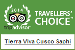 TripAdvisor Travellers Choice badges 2014 cusco saphi cusco hotel